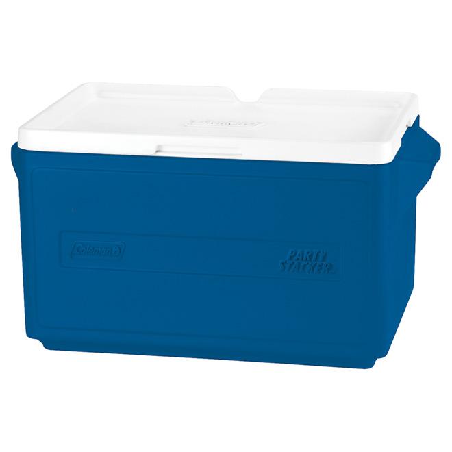 Glacière en plastique 31 litres, bleu