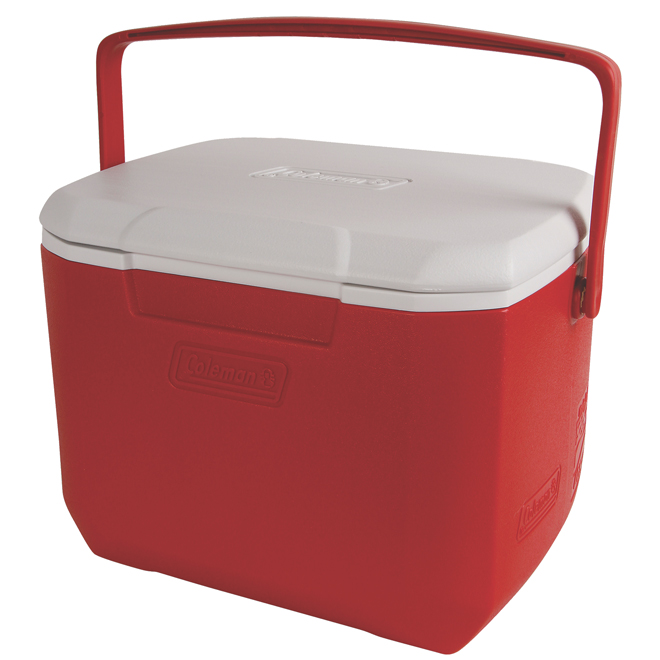 Cooler - Plastic - 15 L - Red