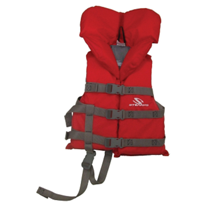 Child's PFD Vest - 30-60 lbs (14-27 kg) - Red