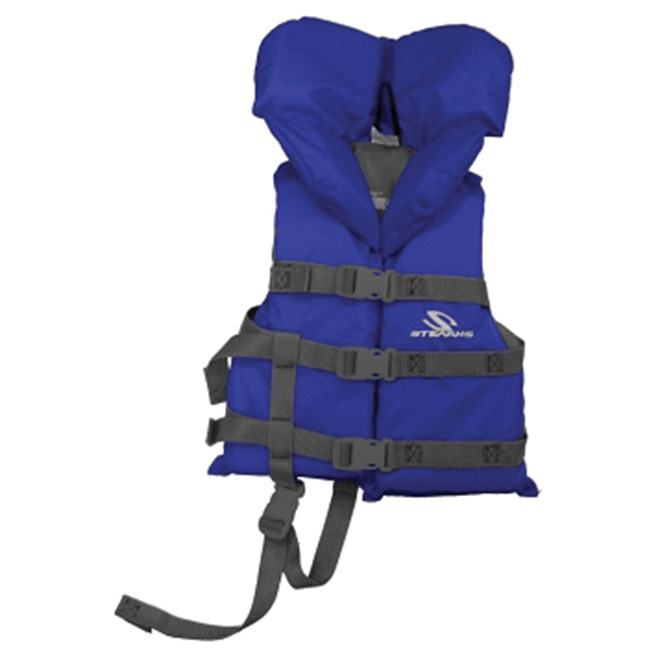 Child's PFD Vest - 30-60 lbs (14-27 kg) - Blue