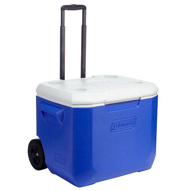 Victory Cooler with Wheels - 94 Can Capacity - 56L - Blue