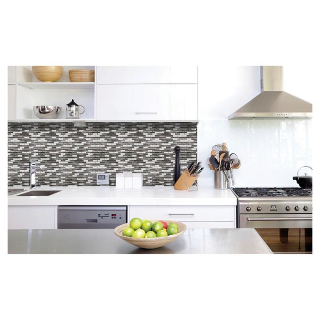 Self-Adhesive Wall Tile - Metallik