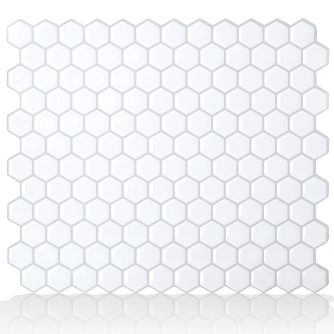 Tuile murale autocollante, Hexago
