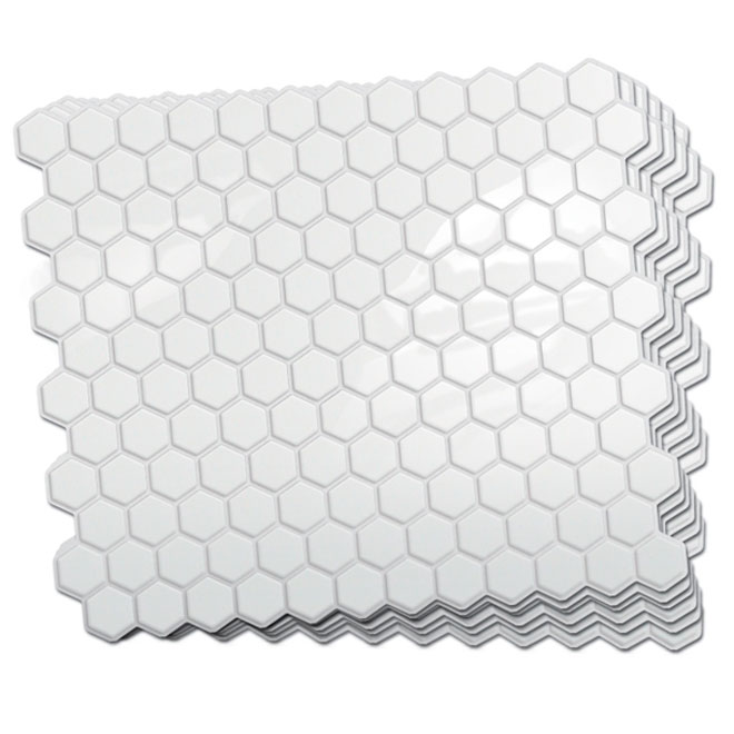 Self-Adhesive Wall Tile - Hexago - 6-Pack