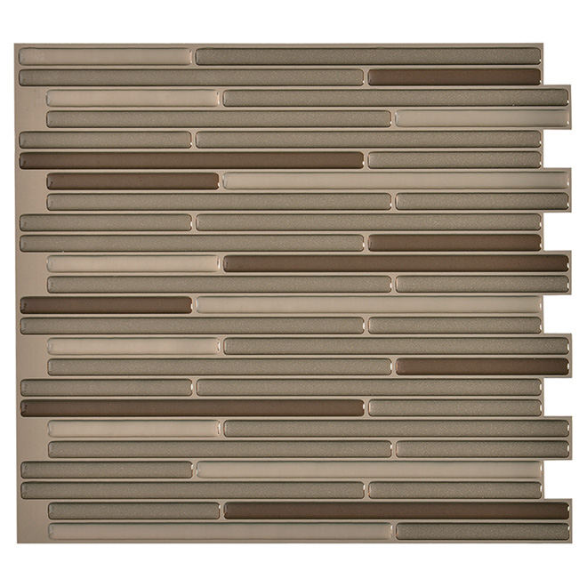 Self-Adhesive Wall Tile - Loft Maronne - 6-Pack