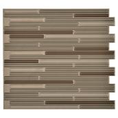 Self-Adhesive Wall Tile - Loft Maronne - 6-Pack