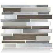 Self-Adhesive Wall Tile - Milano - Dual Finish - 6-Pack