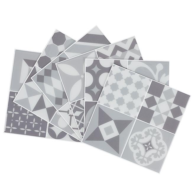 "Mosaic Tiles - Self Adhesive - 9"" x 9"" - Vintage Gallo"