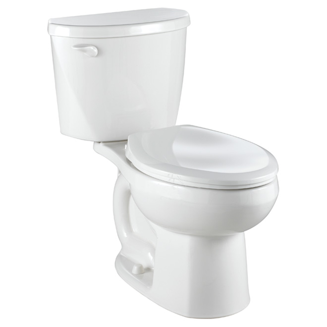 Toilette allongée Mainstream, 6 litres, blanc