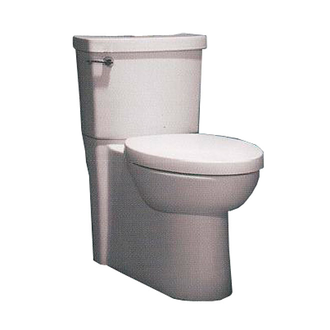 Elongated Front 2-Piece Toilet, Ravenna, 4,8 L, White