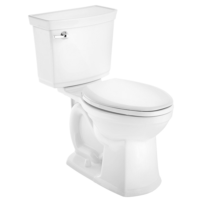 Elongated Front 2-Piece Toilet - Vormax(TM) - 4.8 L- White