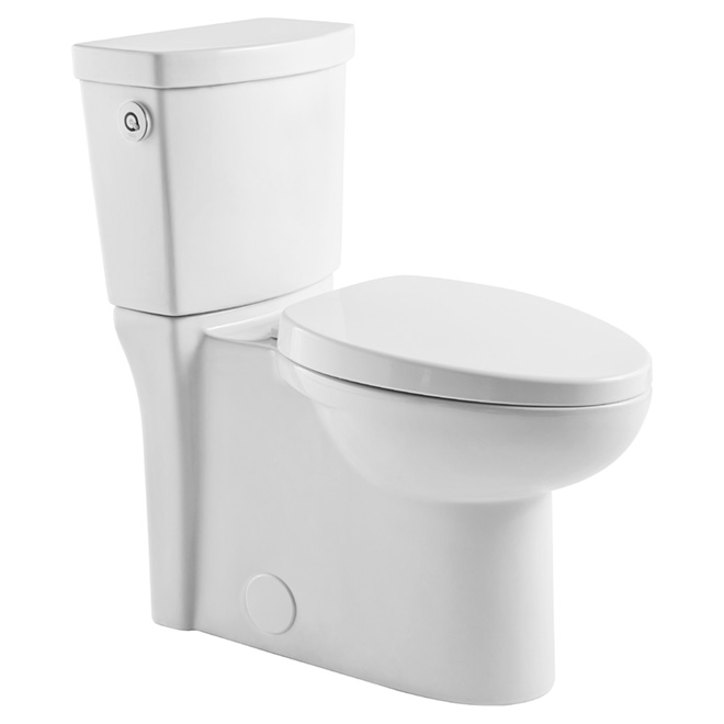 Toilette allongée Activate 4.8L, blanc