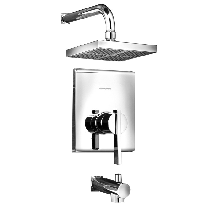 Whistler 1-Handle Tub and Shower Faucet - Chrome