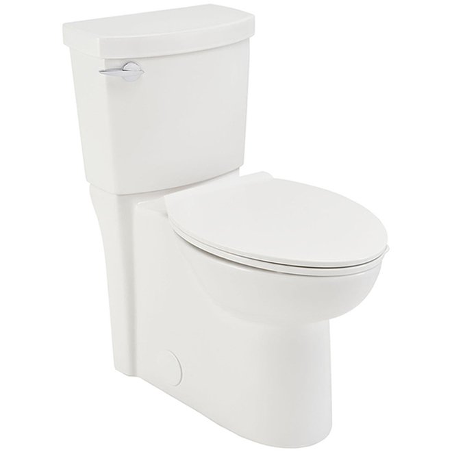 American Standard - Toilet - Round/Clean - 4.8 l - White