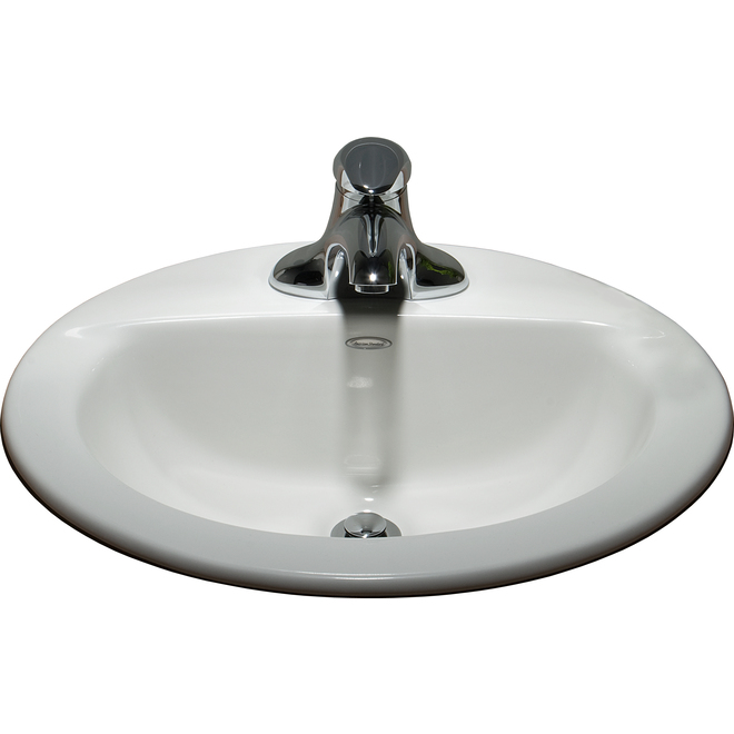American Standard Colony Topmount Oval Sink