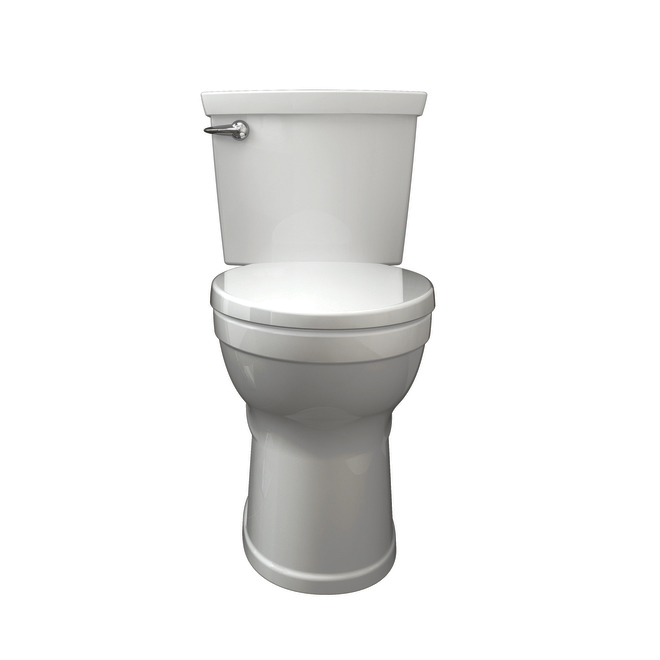 Toilette ronde American Standard, Champion(MD) 4 MAX, blanc