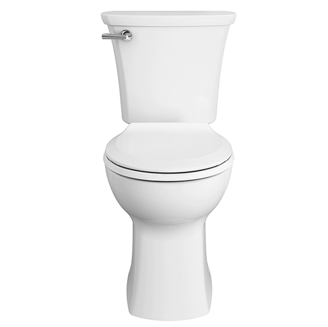 Toilette avec surface EverClean Edgemere par American Standard, 16,5 po, 4,8 L, blanche