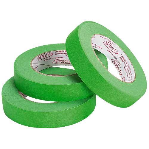 Ruban à masquer, vert, paquet de 3
