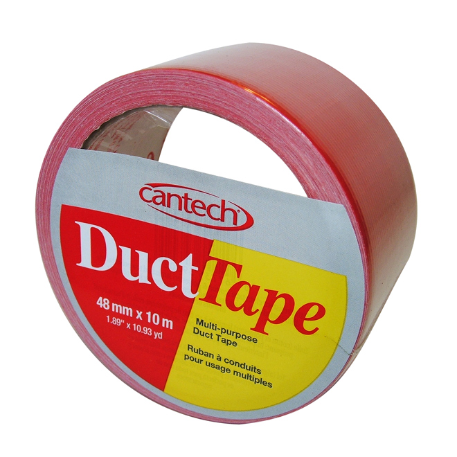 Duct Tape - 48 mm x 10 m - Red