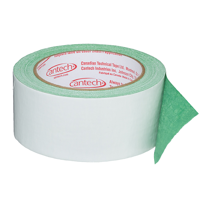 Adhesive Tape - Double-Sided - Green/Grey