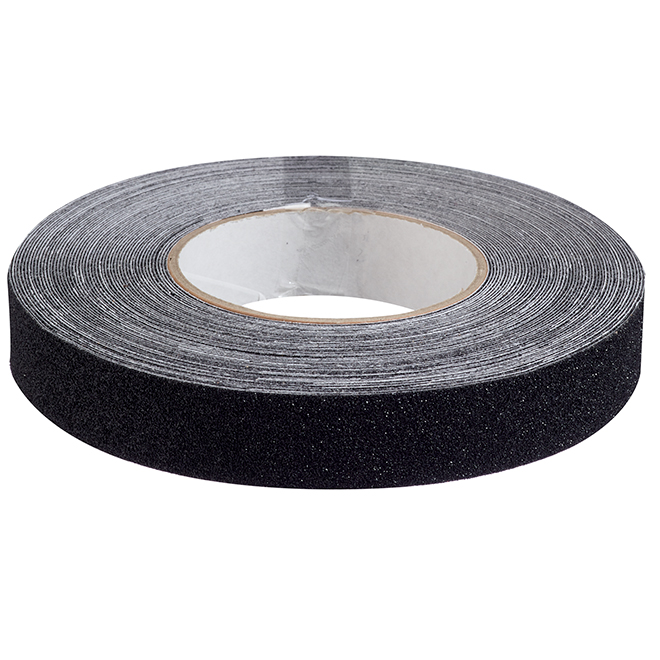 "Anti-Slip Adhesive Tape - 1"" X 60' - Black"