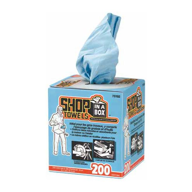 Boîte distributrice de 200 essuie-tout