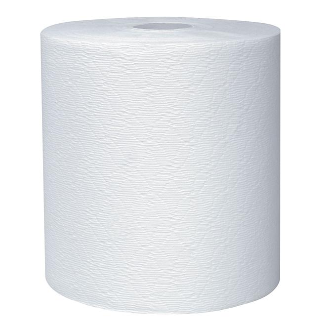 """Rouleau de serviette en papier Kleenex, 8"""" x 425', blanc"""