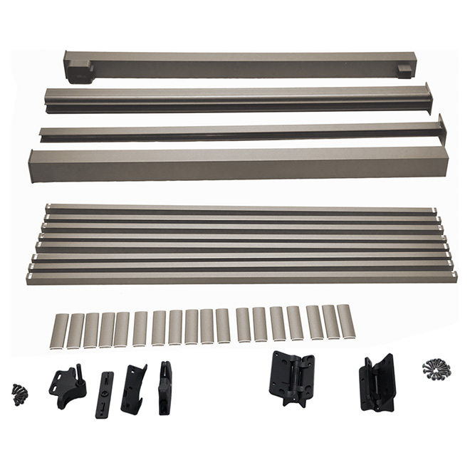 "Gate Railing Kit - 48"" - Aluminum - Taupe"
