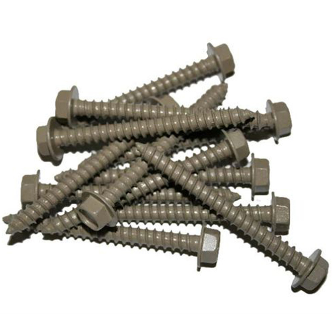 Railing Lag Screws - 2,5'' - Taupe - 24/PK