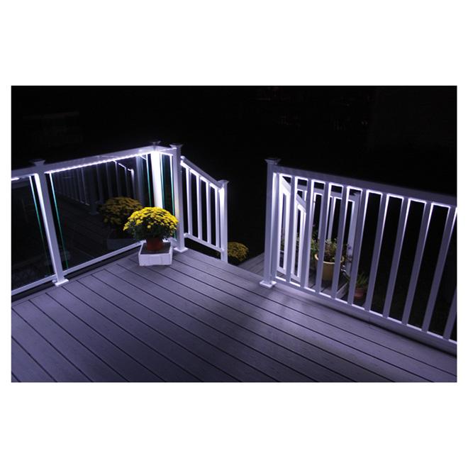 LED Lighting Strip for 6' Railing Section - 3 Colours