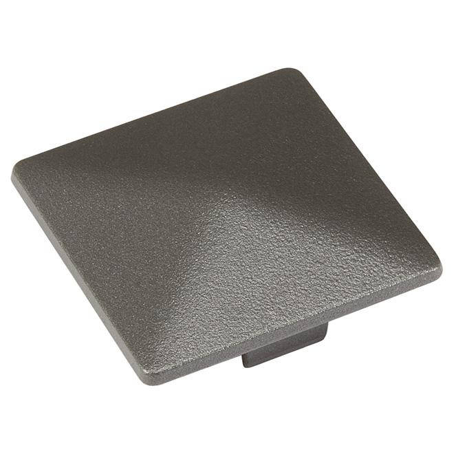 Post Cap - 2 1/2'' x 2 1/2'' - Aluminum - Titanium Grey
