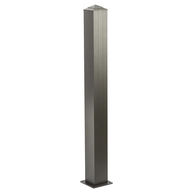 Regal Aluminum Railing Stair Post 6 X 6 X 44 1 2