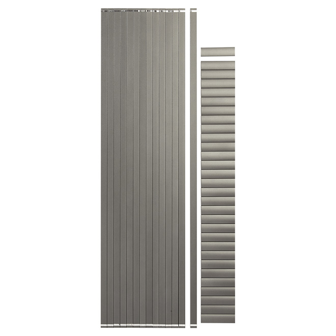Barreaux pour section de rampe de 6', 3/4'', 14/pqt, gris titane