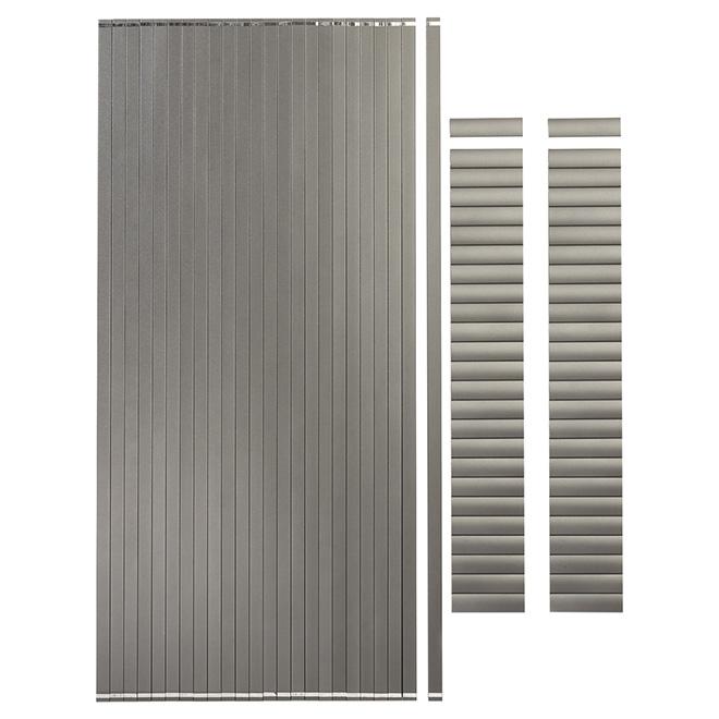 Barreaux pour section de rampe de 10', 3/4'', 24/pqt, gris titane