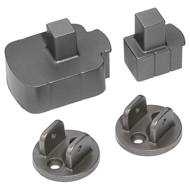 Angle Railing Brackets Kit - 6 3/4 x 3 1/2''