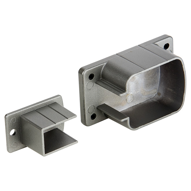 Top and Bottom Railing Wall Support - 7 x 4 1/4''