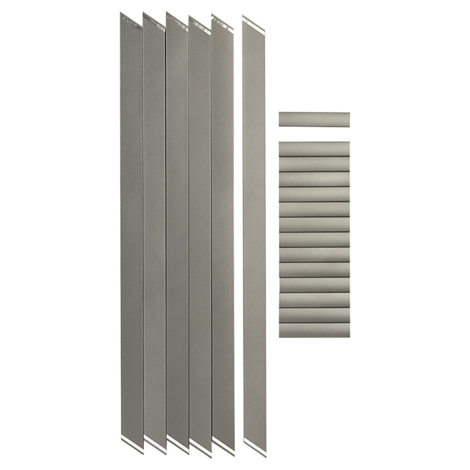Stair Pickets for 3' Section - 1 9/16'' - 24-Pack - Titanium Grey