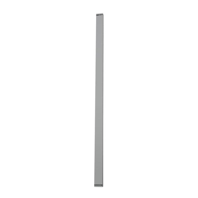 Piquet droit large Classic Railing, aluminium, 3 pi, blanc, paquet de 6