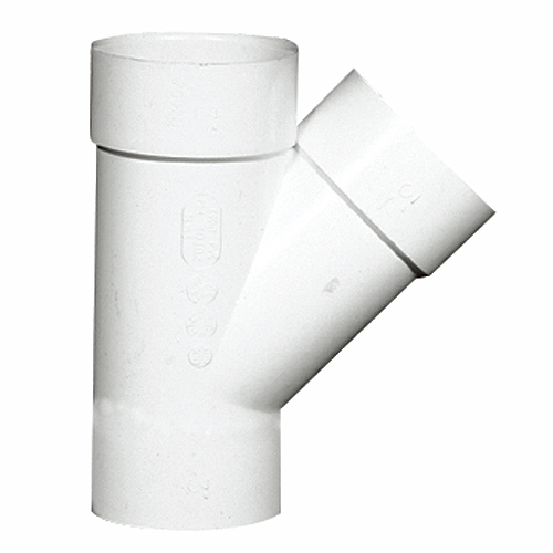 PVC 45° Wye