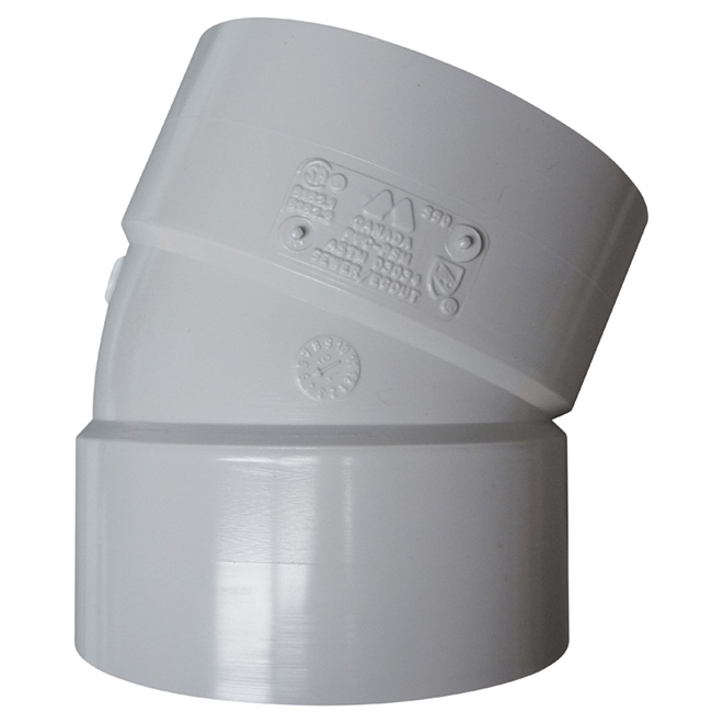 PVC 22 1/2° Elbow