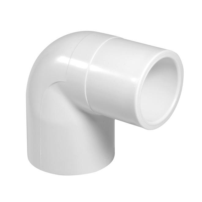 "PVC 90° Elbow - 1/2"""