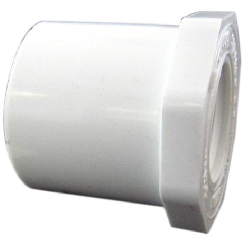 Réducteur industriel en PVC, 1 1/2''-3/4'' , blanc
