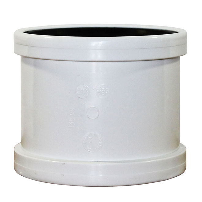 "Manchon femelle Ipex(MD), SDR 35, 6"", blanc"