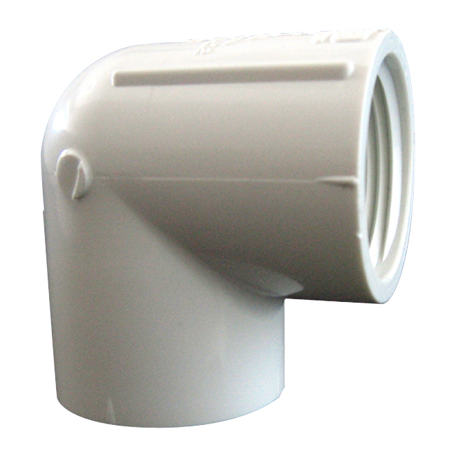 1 1/4-in PVC threaded elbow