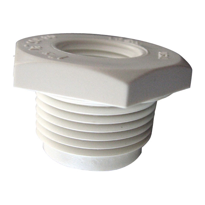 "PVC Industrial Reducer Bushing - Schedule 40 - 1 1/2""-3/4"""