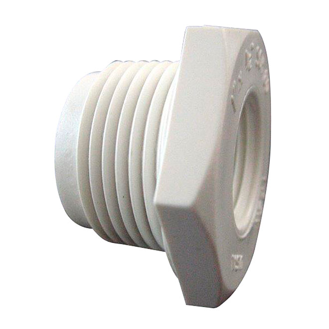 "PVC Industrial Reducer Bushing - Schedule 40 - 1/2""-1/4"""