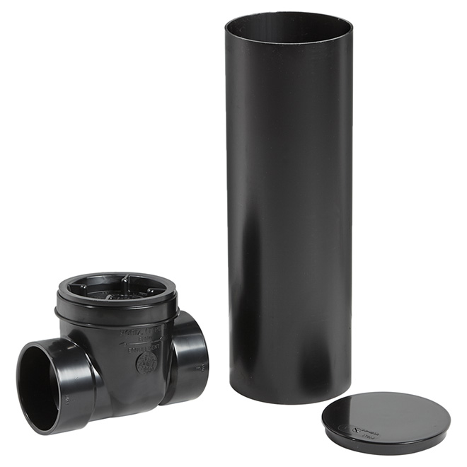 """3"""" ABS DWV Check Valve without Chimney"""