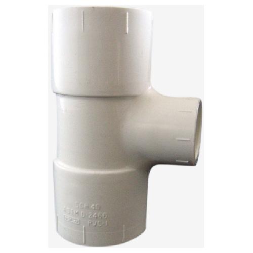 """Industrial PVC Reducing Tee - 3/4""""-1/2"""""""