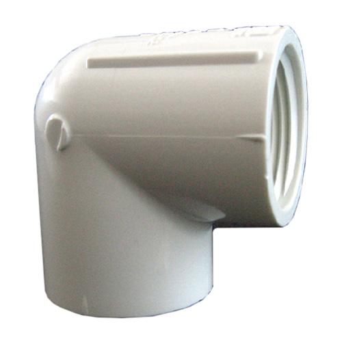 Coude en PVC 3/4 po