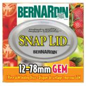 Sealing Discs - Gem Snap Lid® - 78 mm - Pack of 12